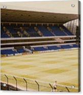 Tottenham - White Hart Lane - West Stand 2 - 1980s Acrylic Print
