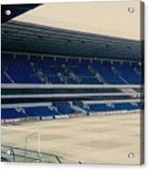 Tottenham - White Hart Lane - West Stand 3 - 1980s Acrylic Print