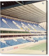 Tottenham - White Hart Lane - West Stand 4 - April 1991 Acrylic Print
