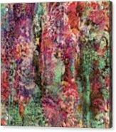 Touch Of Velvet Acrylic Print
