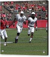 Rutgers Touchdown - Janarion Grant Acrylic Print