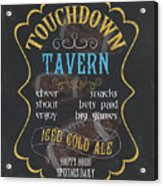 Touchdown Tavern Acrylic Print