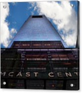 Touching The Sky - Comcast Center Acrylic Print