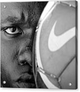 Tough Like A Nike Ball Acrylic Print