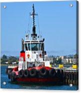Tough Tugboat Acrylic Print