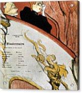 Toulouse-lautrec, 1893 Acrylic Print