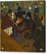 Toulouse-lautrec Moulin Rouge Acrylic Print