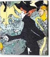 Toulouse Lautrec Tribute Acrylic Print