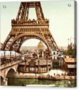 Tour Eiffel  Exposition Universelle Acrylic Print