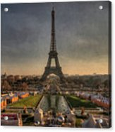 Tour Eiffel Acrylic Print by Philippe Saire - Photography