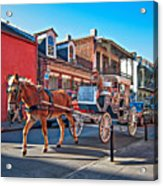 Touring The French Quarter Acrylic Print