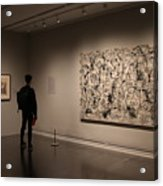 Touring The Met Acrylic Print