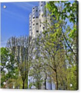Tours Aillaud Building Acrylic Print
