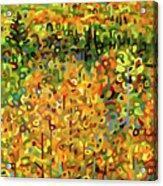 Towards Autumn Acrylic Print