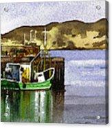 Towards Davaar From Campbeltown Acrylic Print