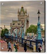 Towards Tower Bridge, London  Acrylic Print
