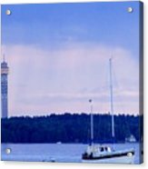 Tower And Masts Acrylic Print