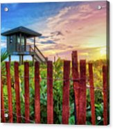 Tower At The Dunes Acrylic Print
