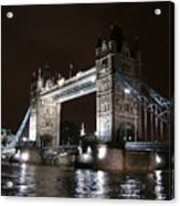 Tower Bridge By Night Acrylic Print