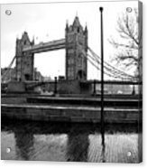 Tower Bridge In November Acrylic Print