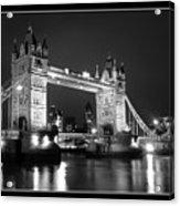 Tower Bridge London. Acrylic Print