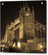 Tower Bridge Of London Acrylic Print