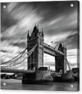 Tower Bridge, River Thames, London, England, Uk Acrylic Print