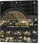 Tower City Close Up Acrylic Print