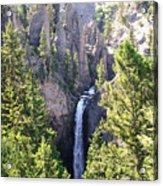 Tower Fall Yellowstone Acrylic Print