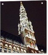 Brussels Tower Light Acrylic Print