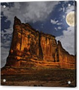 The Midnight Tower Acrylic Print