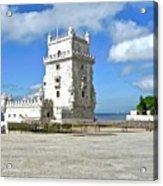 Tower of Belem Acrylic Print