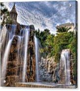 Tower Of Fountain Acrylic Print