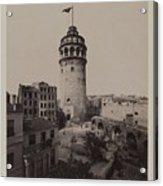 Tower Of Galata,  Acrylic Print