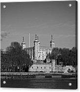 Tower Of London Riverside Acrylic Print by Gary Eason
