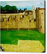 Tower Of London  Study  Acrylic Print