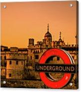 Tower Of London. Acrylic Print