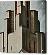Tower Of Memories Acrylic Print