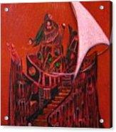 Tower Of Silence Acrylic Print