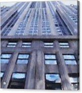 Tower Of Steel And Stone Acrylic Print
