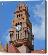 Tower Of The Decatur Courthouse  Acrylic Print