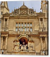 Tower Of The Five Orders Bodleian Library Oxford Acrylic Print