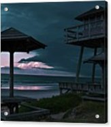 Tower Over The Shoreline Acrylic Print