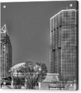 Tower Place Stripped Buckhead Atlanta Art Acrylic Print