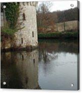 Tower Reflection Acrylic Print