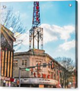 Tower Theater - Upper Darby Pa Acrylic Print