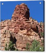 Towering Cliff Acrylic Print