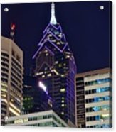 Towering Over Philly Acrylic Print