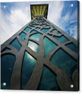 Towering Post Acrylic Print