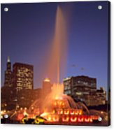 Towers And Fountains Acrylic Print